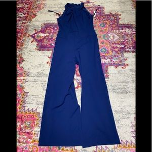 ANTONIO MELANI blue jumpsuit